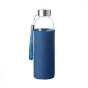 Glass bottle in pouch 500 ml UTAH DENIM MO6192-04