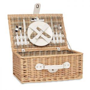 Wicker picnic basket 2 people MIMBRE MO6193-40