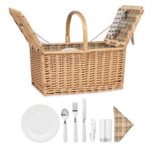 Wicker picnic basket 4 people MIMBRE PLUS MO6194-40