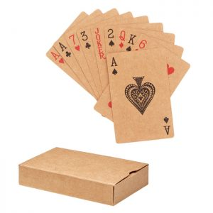 Recycled paper playing cards ARUBA + MO6201-13
