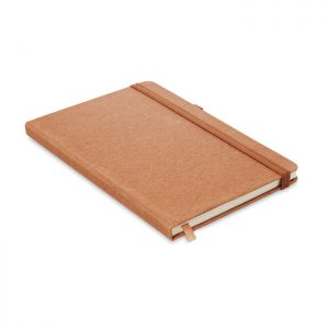 Recycled PU A5 lined notebook BAOBAB MO6220-01