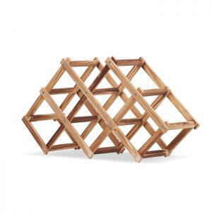 Foldable wooden wine rack ENTEULAT MO6269-40