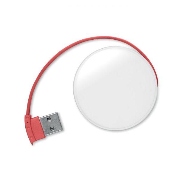 RAZDJELNIK USB  4/1 ROUNDHUB MO8671-05