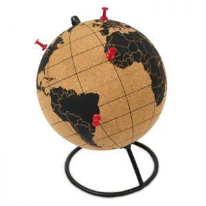 Globe in cork PINPOINT MO9722-01