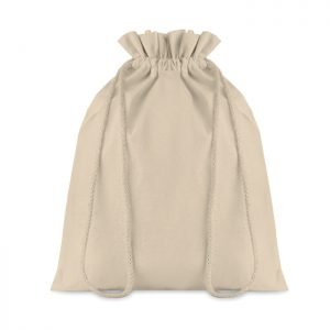 Medium Cotton draw cord bag TASKE MEDIUM MO9730-13