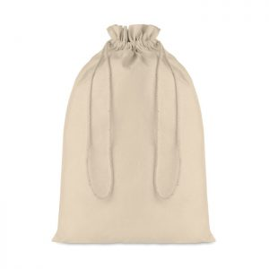 Large Cotton draw cord bag TASKE LARGE MO9732-13