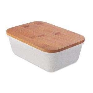 Lunchbox with bamboo lid FANCY LUNCH MO9740-13