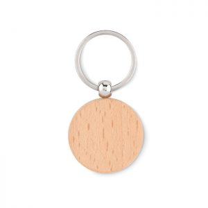 Round wooden key ring TOTY WOOD MO9773-40