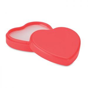 Lip balm in heart shaped case COEUR MO9807-05