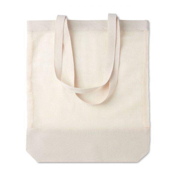 170gr/m² cotton shopping bag MESH BAG MO9814-13