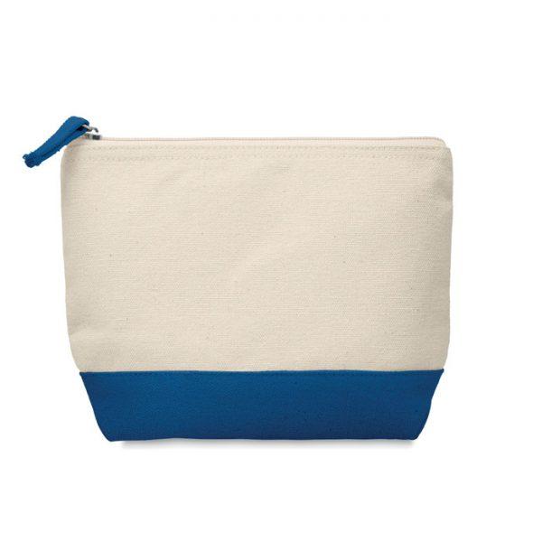 Bicolour cotton cosmetic bag KLEUREN MO9815-04
