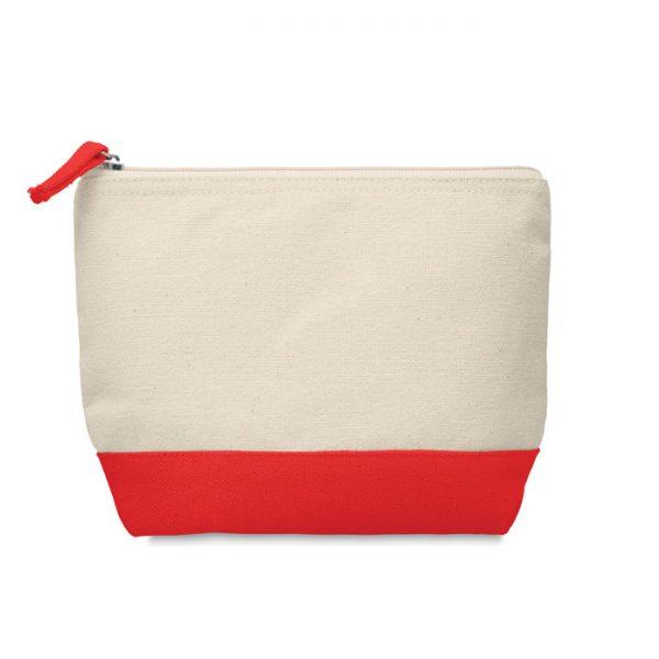 Bicolour cotton cosmetic bag KLEUREN MO9815-05