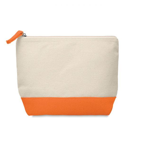 Bicolour cotton cosmetic bag KLEUREN MO9815-10