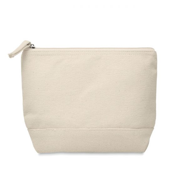 Bicolour cotton cosmetic bag KLEUREN MO9815-13
