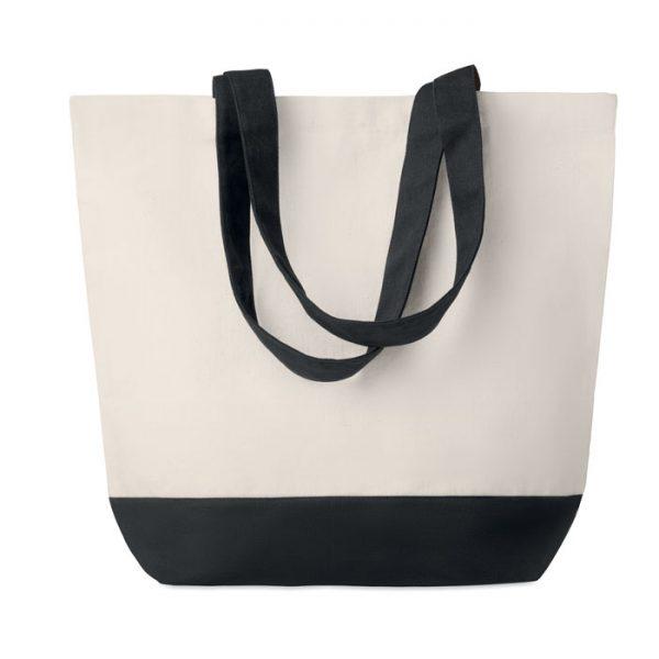 Canvas beach bag 280gr/m2 KLEUREN BAG MO9816-03