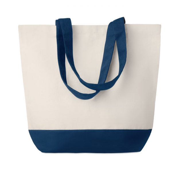 Canvas beach bag 280gr/m2 KLEUREN BAG MO9816-04