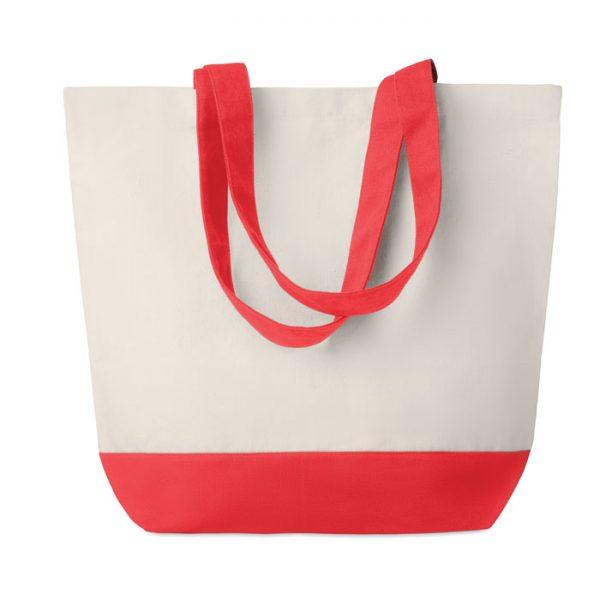 Canvas beach bag 280gr/m2 KLEUREN BAG MO9816-05