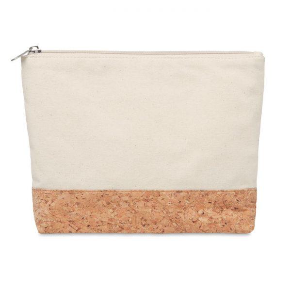 Cork & cotton cosmetic bag PORTO BAG MO9817-13