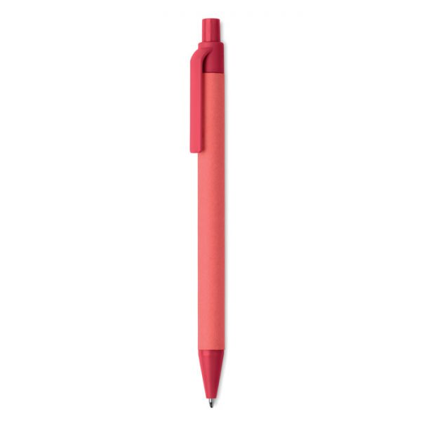 Paper/PLA corn ball pen CARTOON COLOURED MO9830-05