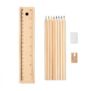 Stationery set in wooden box TODO SET MO9836-40