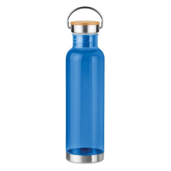 Tritan 800ml bottle bamboo top HELSINKI BASIC MO9850-23
