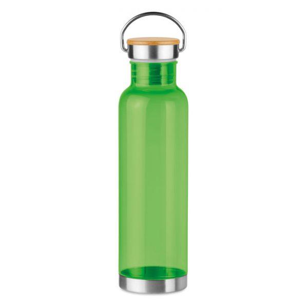 Tritan 800ml bottle bamboo top HELSINKI BASIC MO9850-51