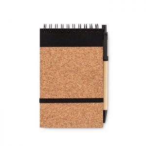 A6 cork notebook with pen SONORACORK MO9857-03