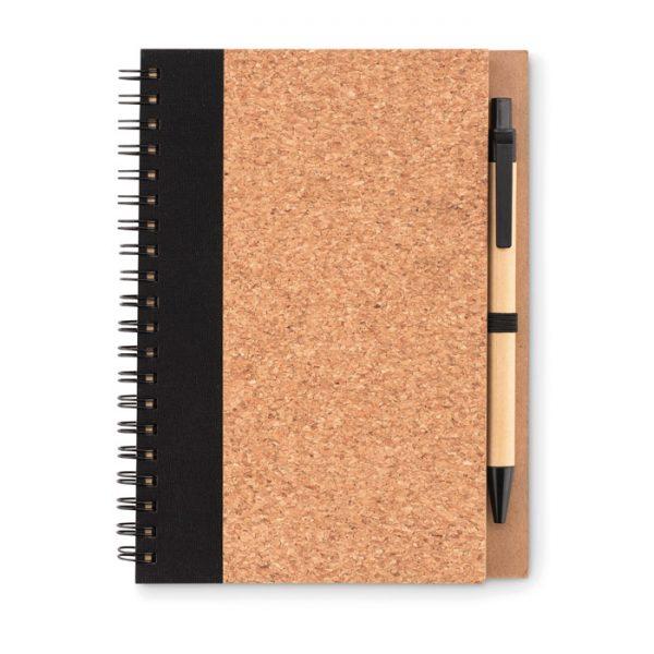 Cork notebook with pen SONORA PLUSCORK MO9859-03