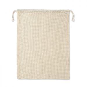 Re-usable cotton mesh food bag VEGGIE MO9865-13