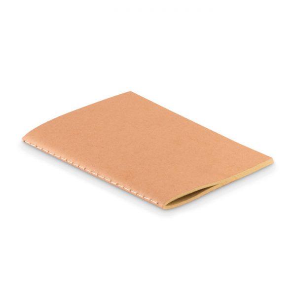 A6 notebook in cardboard cover MINI PAPER BOOK MO9868-13