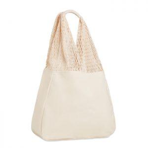 Beach bag cotton/mesh BARBUDA MO9897-13