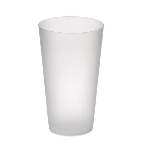 Frosted PP cup 550 ml FESTA CUP MO9907-26