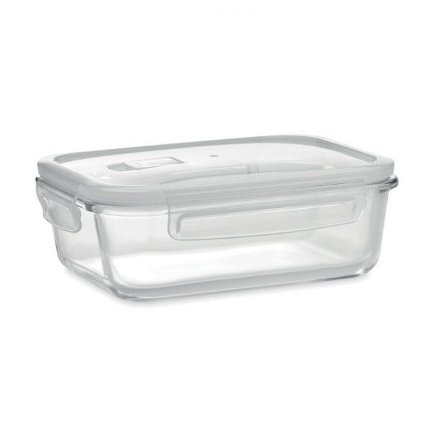 Glass lunchbox & PP lid 900ml PRAGA LUNCHBOX MO9923-22