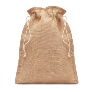 Small jute gift bag 14 x 22 cm JUTE SMALL MO9928-13
