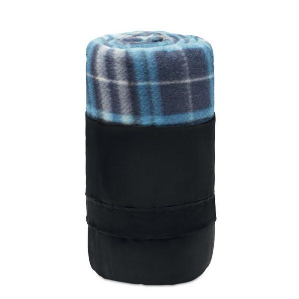 RPET fleece travel blanket DINARA RPET MO9936-04