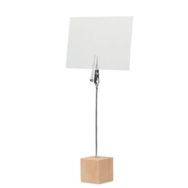 Pine wooden clip holder HELLO CLIP MO9947-40