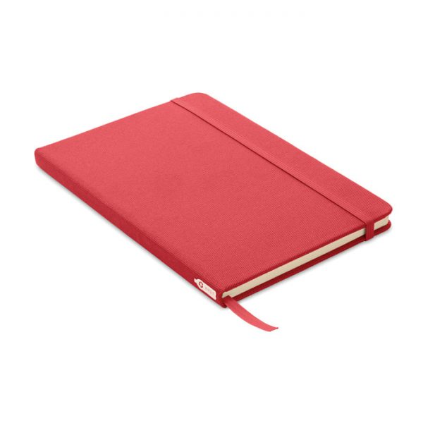 A5 notebook 600D RPET cover NOTE RPET MO9966-05