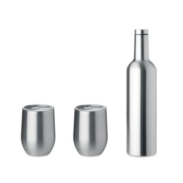 Double walled bottle & mug set CHIN SET MO9971-16