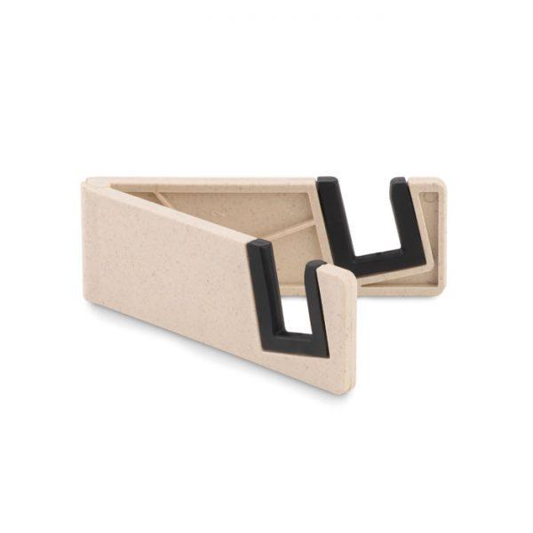 Phone holder bamboo fibre/PP STANDOL+ MO9994-06