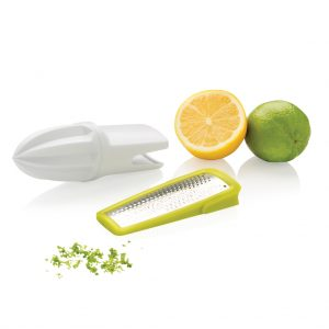 2-in-1 citrus zester and grater P261.297