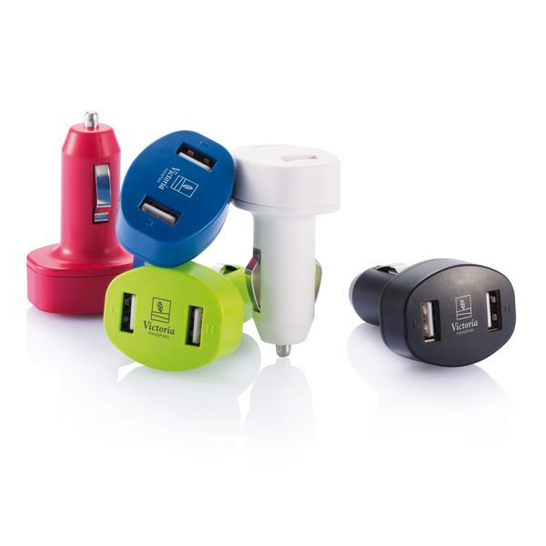 Double USB car charger P302.061