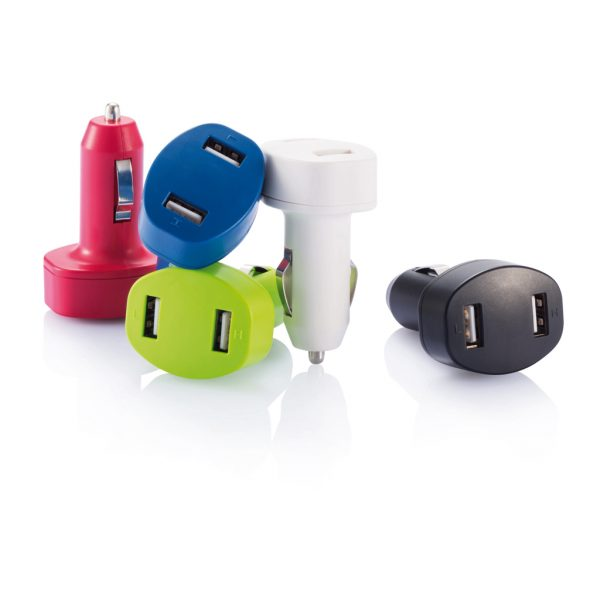 Double USB car charger P302.063