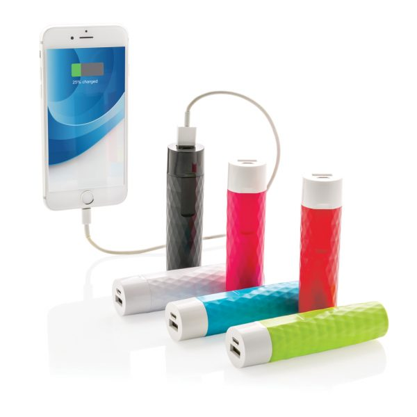 2200 mAh geometric powerbank P324.540