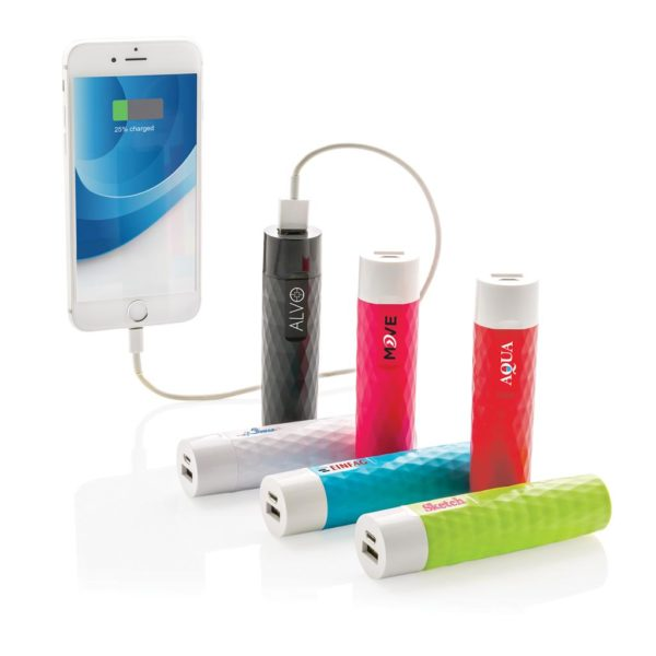 2200 mAh geometric powerbank P324.541