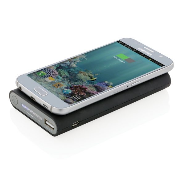 8.000 mAh wireless 5W powerbank with type C P324.921