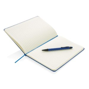 Standard hardcover A5 notebook with stylus pen P773.255