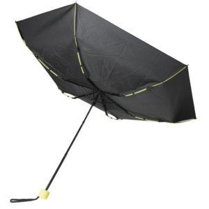 "Coloured 21"" fiberglass foldable umbrella"
